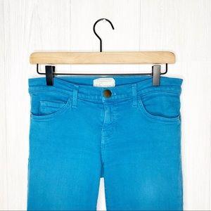 Current/Elliot | The Ankle Skinny in Blue Canteen